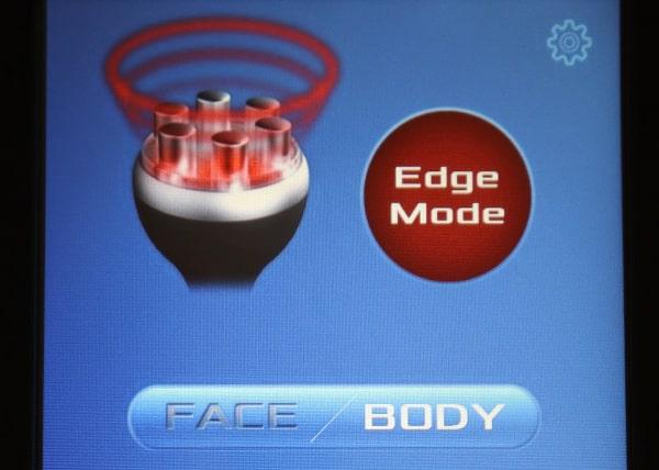 エッジモードで短時間で即効性、もっと結果を出せる