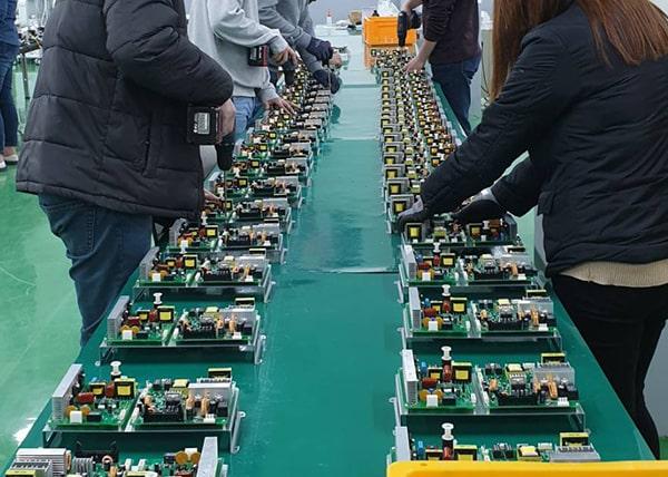 ISO数種取得工場で生産・増産するので安全と安心の高品質